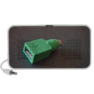 Placa madre PS 2 al adaptador del ratón de USB Altavoces De Viaje