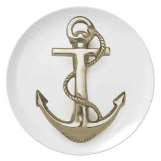 Placa náutica cobrable plato de comida