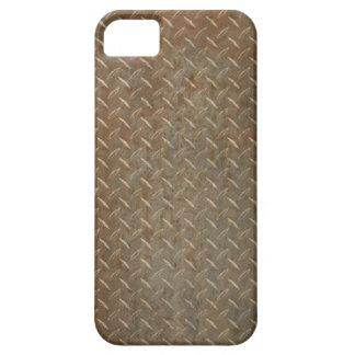 Placa oxidada del diamante iPhone 5 carcasas