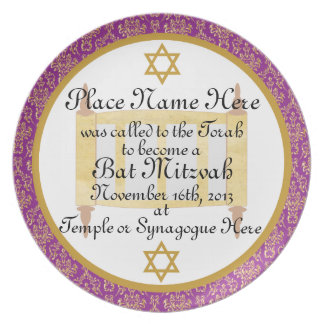 Placa personalizada de la placa del recuerdo de Mi Plato De Comida