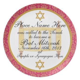 Placa personalizada de la placa del recuerdo de Mi Plato