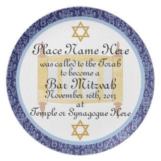 Placa personalizada de la placa del recuerdo de Mi Platos