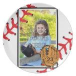 Placa personalizada del béisbol/del softball platos