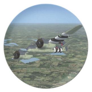 Placa plana de Bristol Beaufighter Plato