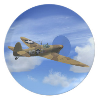 Placa plana de VB del Spitfire de Supermarine Plato