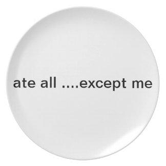 placa plato