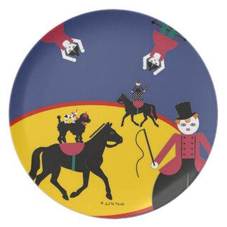 Placa principal de Cirque de Martzkins Ring Plato De Cena