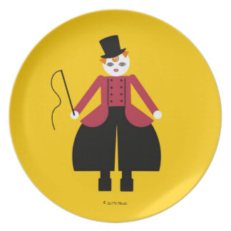 Placa principal de Cirque de Martzkins Ring Plato Para Fiesta