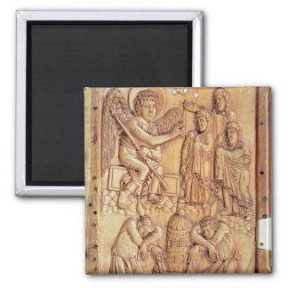 Placa que representa a las mujeres santas en la tu imanes para frigoríficos