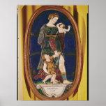 Placa que representa la caridad, Lemosín, 1559 Póster