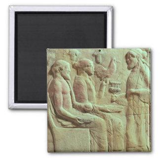 Placa que representa un ofrecimiento c 450 A C Iman De Frigorífico