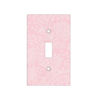 placa rosada del interruptor del dormitorio del tapa para interruptor