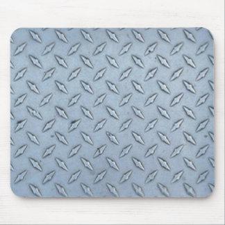 Placa tejada del diamante tapetes de ratón
