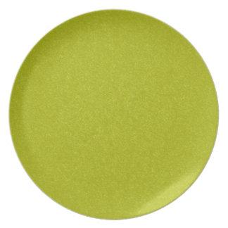 Placa texturizada piedra verde plato de comida