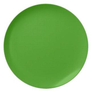 Placa verde clara de Limeade Plato