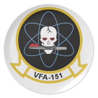 Placa VFA-151 Platos De Comidas