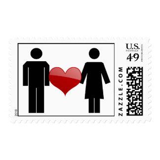 Placard Love Postage