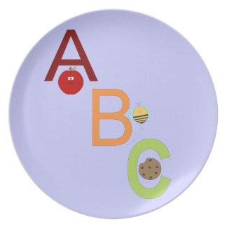 Placas de ABC Platos