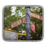 Placas de calle 2 manga de iPad