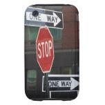 Placas de calle funda though para iPhone 3