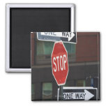 Placas de calle imán cuadrado