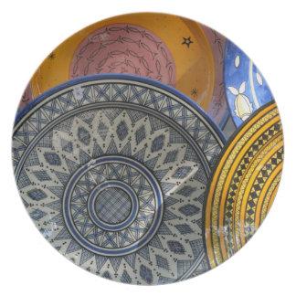 Placas de cerámica platos de comidas