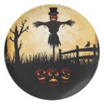 Placas de Halloween Platos