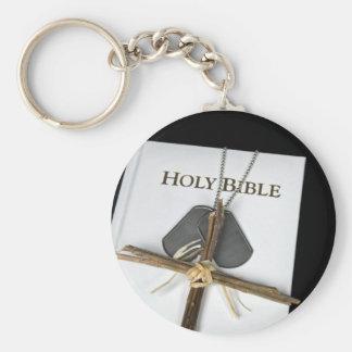 placas de identificación con la cruz en la biblia llavero redondo tipo pin