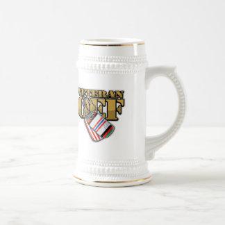 Placas de identificación del veterano OEF Tazas De Café