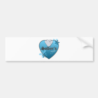 Placas de identificación en forma de corazón pegatina para auto