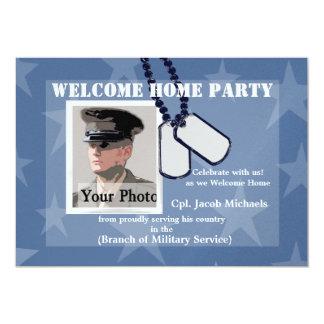Placas de identificación militares caseras comunicados personales