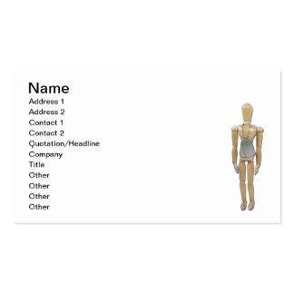 Placas de identificación que llevan modelo tarjetas de visita