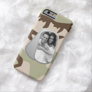 Placas de identificación y modelo militares del funda para iPhone 6 barely there