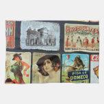 Placas de metal españolas toallas de cocina