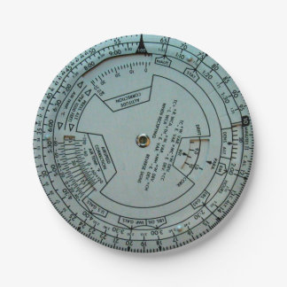 Placas de papel de ordenador de navegación de la plato de papel de 7 pulgadas
