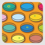 Placas de Petri multicoloras