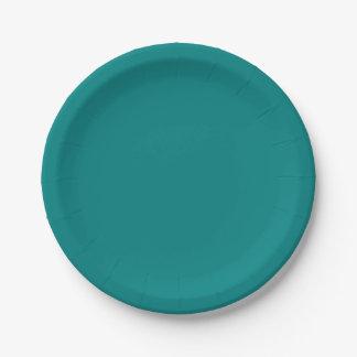 Placas del trullo plato de papel 17,78 cm