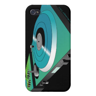 Placas giratorias de DJ iPhone 4 Protectores