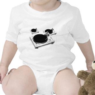 placas giratorias traje de bebé