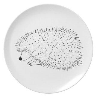 placas plato de comida