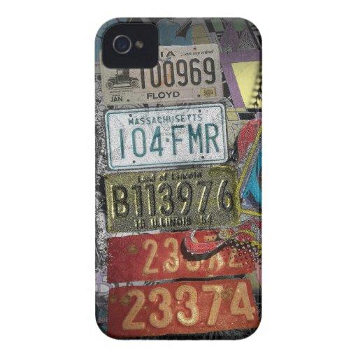Placas retras Case-Mate iPhone 4 fundas