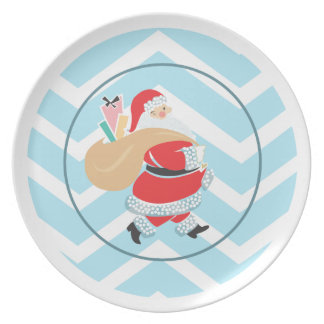 Placas retras del día de fiesta de la placa el   d plato para fiesta