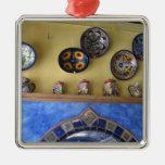 Placas y cerámica mexicanas de la cocina ornamento de reyes magos