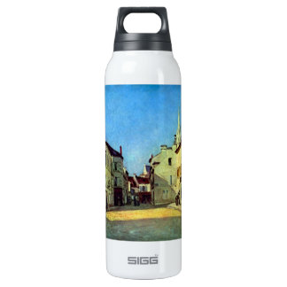 Place at Argenteuil by Alfred Sisley 16 Oz Insulated SIGG Thermos Water Bottle