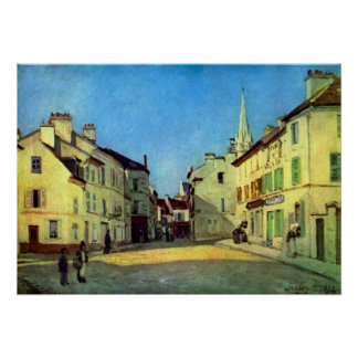 Place at Argenteuil by Alfred Sisley Print