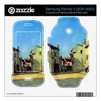 Place at Argenteuil by Alfred Sisley Samsung Eternity II Skins