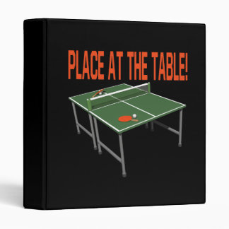 Place At The Table Binder