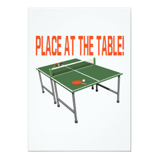 Place At The Table Custom Invite