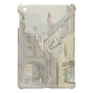 Place Barthelme, Paris, c.1829 (w/c & grey wash ov iPad Mini Case