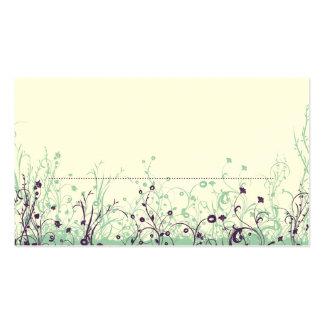 Place Card ~ Butterfly Garden 9 Business Card Template